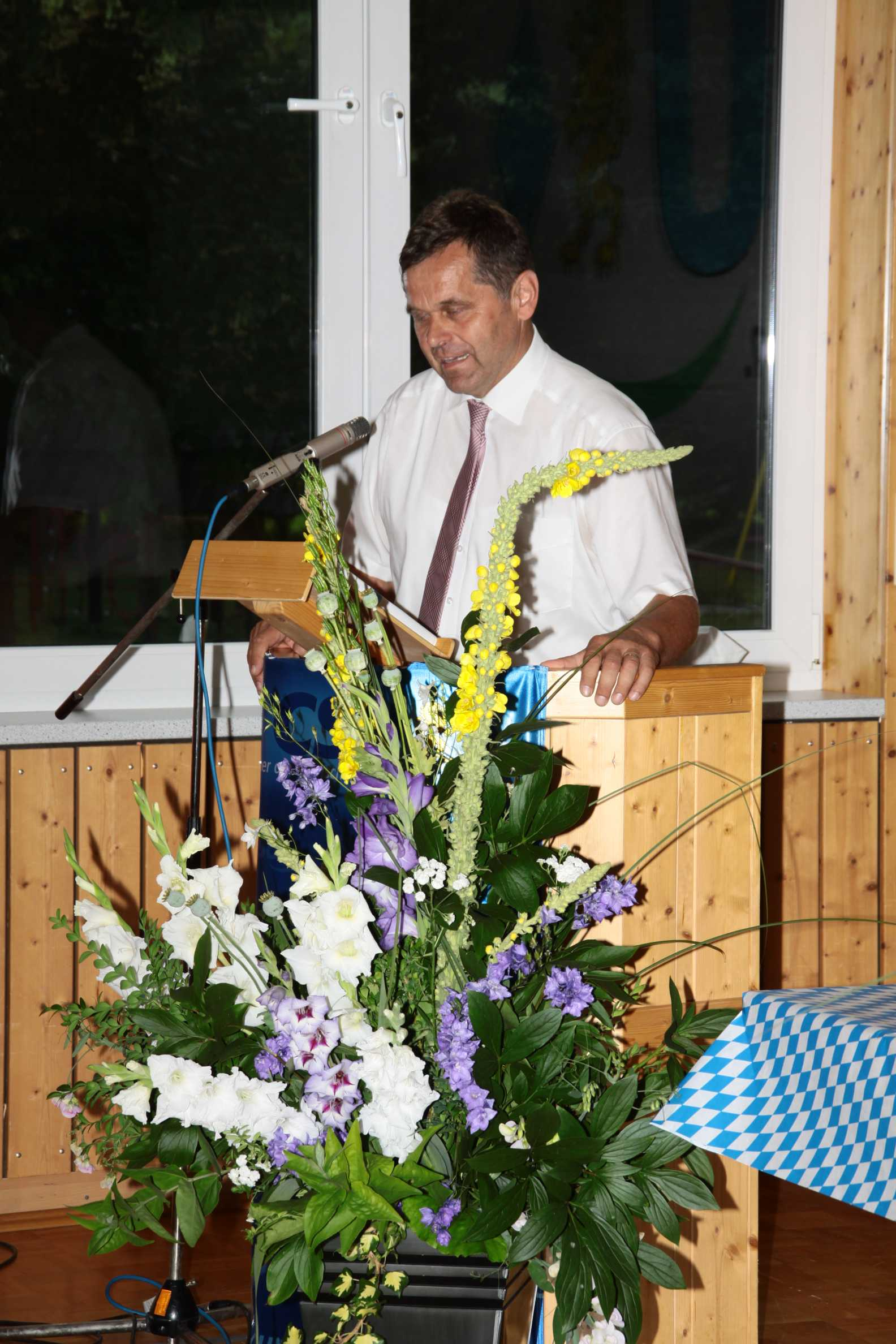 Franz-Josef Sauer Moderation- Stadtrat in Arnstein