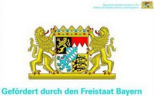 Logo Bayerisches Staatsministerium für Arbeit und Soziales, Familie und Integration.